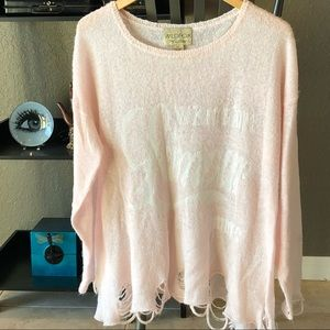 Wildfox L'amour Lennon Sweater